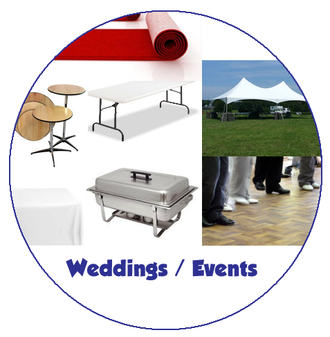 Weddings / Events Party Supply Rentals in Durham, NC